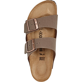 Birkenstock Arizona Sandals Birko-Floor Nubuk, mocca